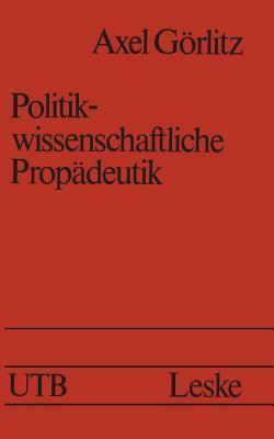 Politikwissenschaftliche Propadeutik