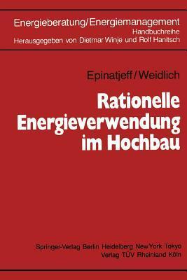 Rationelle Energieverwendung Im Hochbau