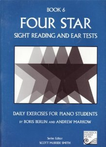 Four Star Sight Reading and Ear Tests, Book 6