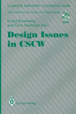 Design Issues In Cscw