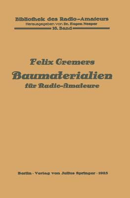Baumaterialien Fur Radio-Amateure: 16. Band