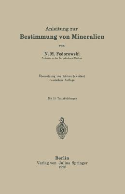Anleitung Zur Bestimmung Von Mineralien