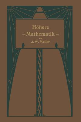 Hohere Mathematik Fur Studierende Der Chemie Und Physik Und Verwandter Wissensgebiete