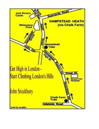 Get High in London - Start Climbing London's Hills