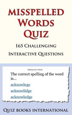 Misspelled Words Quiz