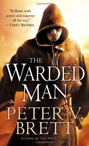 The Warded Man (originally The Painted Man) Book Cover