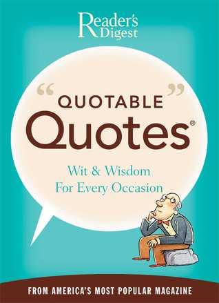 Quotable Quotes