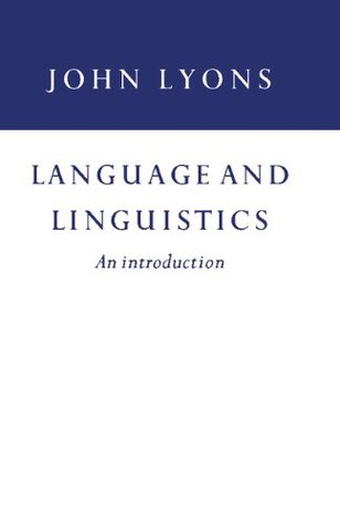 Language and Linguistics