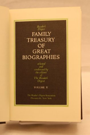 Family Treasury of Great Biographies Vol V: Christopher Columbus, Mariner/Anne Frank: The Diary of a Young Girl/Life and Death of Lenin/W. C. Fields: His Follies & Fortunes (Reader's Digest Family Treasury of Great Biographies, Volume 5)