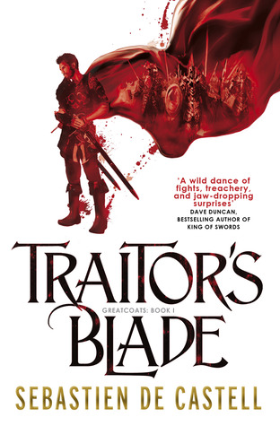 Traitor's Blade Book Cover