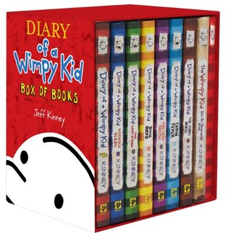Diary of a Wimpy Kid: #1-7 + DIY + Journal