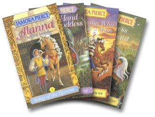 The Song of the Lioness Quartet (Song of the Lioness, #1-4)