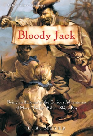 #Printcess review of Bloody Jack by L.A. Meyer