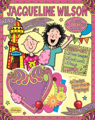 Jacqueline Wilson Holiday Sticker Annual