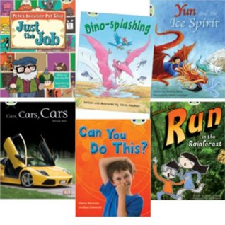 Learn to Read at Home with Bug Club: Turquoise Pack (Pack of 6 Reading Books with 4 Fiction and 2 Non-Fiction)