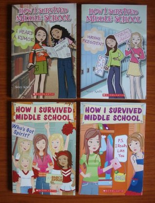 How I Survived Middle School: Set of 4 Chapter Books