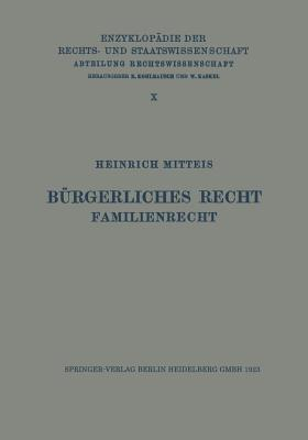 Burgerliches Recht Familienrecht