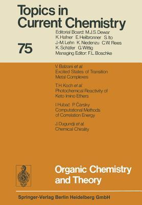 Organic Chemistry and Theory