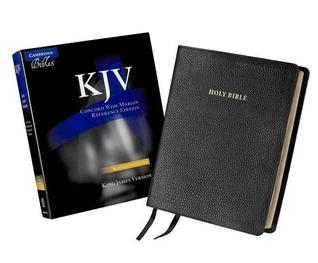 Concord Wide Margin Reference Bible-KJV