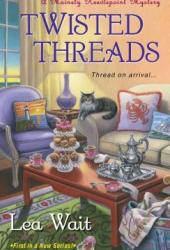 Twisted Threads (Mainely Needlepoint, #1) Book