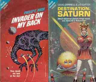 Invader On My Back / Destination: Saturn (Ace H 85)
