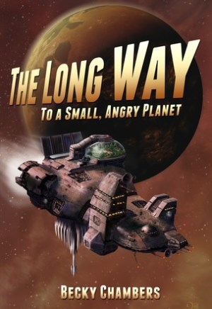 #Printcess review of The Long Way to a Small, Angry Planet by Becky Chambers