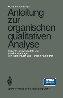 Anleitung Zur Organischen Qualitativen Analyse
