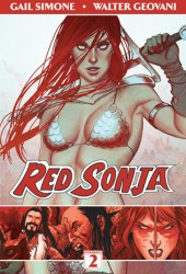 Red Sonja, Vol. 2: The Art of Blood and Fire Book