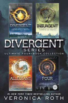 The Divergent Library: Divergent; Insurgent; Allegiant; Four: The Transfer, The Initiate, The Son, and The Traitor