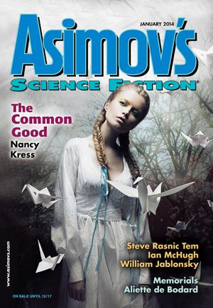 Asimov's Science Fiction, January 2014