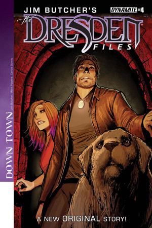Jim Butcher's Dresden Files: Down Town #4