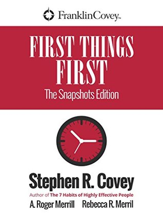 First Things First: New Snapshots Edition