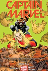 Captain Marvel, Volume 2: Stay Fly Book