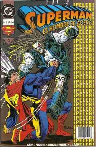 Superman - El Hombre de Acero, Libro 4: ¡Pelea! ¡Pelea! ¡Pelea!