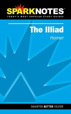 The Iliad (SparkNotes Literature Guides)