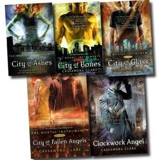 Mortal Instruments/Infernal Devices Book Set (The Mortal Instruments, #1-4; Infernal Devices, #1)