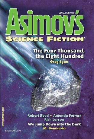Asimov's Science Fiction, December 2015