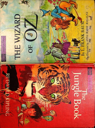 The Jungle Book / The Wizard of Oz