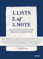 Lists of Note: Aufzeichnungen, die die Welt bedeuten