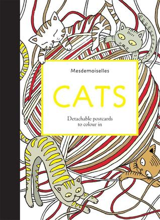 Cats Postcards: Detachable Postcards to Colour In