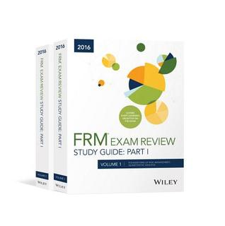 Wiley Study Guide for 2016 Part I Frm Exam: Complete Set