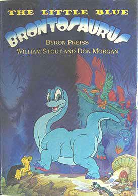 The Little Blue Brontosaurus