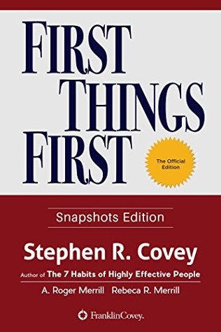 First Things First - The Snapshots Edition: Special Edition