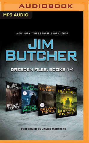 Storm Front / Fool Moon / Grave Peril / Summer Knight (Dresden Files: Books 1-4)