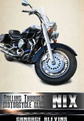Nix (Rolling Thunder Motorcycle Club, #8) Book by Candace Blevins