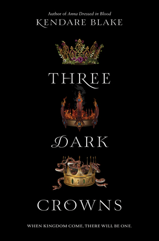 Image result for three dark crowns cover