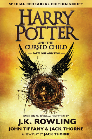 Harry Potter and the Cursed Child, Parts 1 & 2 Book Cover