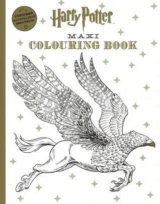 Harry Potter Maxi Colouring Book