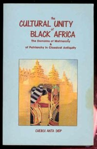 Image result for c a diop cultural unity of black africa
