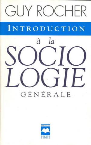 Introduction à la sociologie générale